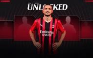 CHÍNH THỨC! AC Milan chiêu mộ thành công nhà vô địch EURO