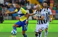 Ronaldo mất bàn thắng phút 90+4, Juventus bị Udinese cầm chân
