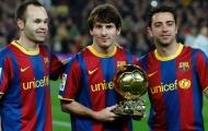 Đội hình vĩ đại nhất thế kỷ 21: Huyền thoại Barca áp đảo