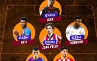Đội hình 21 tuổi trở xuống giá trị nhất La Liga: 4 Barca, 1 Real