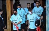 Người hâm mộ bủa vây trong ngày Messi hội quân cùng ĐT Argentina
