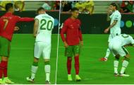 Máu quỷ trỗi dậy, Ronaldo điên tiết tẩn đối thủ trước mặt trọng tài