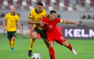 Thua đậm Australia ở VL World Cup, tuyển Trung Quốc xếp dưới Việt Nam