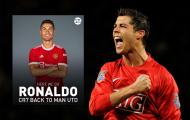 Man Utd sở hữu thứ vũ khí bí mật để mở khóa Ronaldo