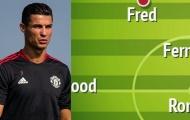 Gặp Newcastle, có 5 cách để Solskjaer giải phóng Ronaldo