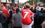Hình ảnh choáng ngợp của Ronaldo tại SVĐ Old Trafford