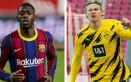 Dortmund chấp nhận đề nghị của Barca dành cho Haaland
