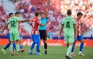Felix bị đuổi, Atletico rơi điểm trước Bilbao