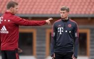 Làm 2 đồng đội chấn thương trong 1 tuần, sao Bayern bị HLV chấn chỉnh