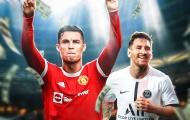 10 cầu thủ kiếm tiền giỏi nhất 2021: Ronaldo đánh bật Messi; Choáng với Top 3