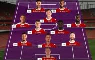 Đội hình những bản hợp đồng đắt giá nhất lịch sử Arsenal: Song sát Ozil - Sanchez