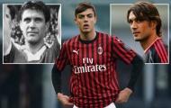 Nhà Maldini tiếp tục câu chuyện cha truyền con nối tại AC Milan