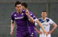 Dusan Vlahovic khiến chủ tịch Fiorentina ức chế