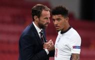Gareth Southgate thừa nhận Jadon Sancho không xứng đáng lên tuyển