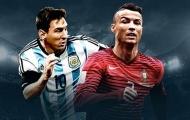 Messi hay Ronaldo? Van Dijk đã có lựa chọn