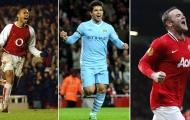 Xếp hạng 10 tiền đạo xuất sắc nhất Premier League: Rooney sau 3 người