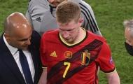 De Bruyne hối hận vì tiêm thuốc giảm đau tại EURO 2020
