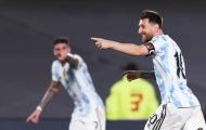 Messi đã cười nhiều hơn trên ĐT Argentina