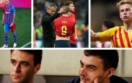 2 bộ mặt của các tiền vệ Barca