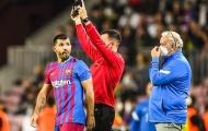 Aguero ra mắt Barca từ ghế dự bị