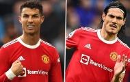 Ronaldo - Cavani: Bài toán hóc búa với Ole