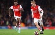 Công thức chiến thắng của Arsenal thiết lập sau hai sự thay đổi