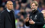 Phong cách hoàn toàn khác biệt của Zidane và Klopp