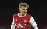 Huyền thoại Arsenal chỉ ra vấn đề của Martin Odegaard
