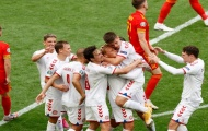 18 thống kê ấn tượng trận Xứ Wales 0-4 Đan Mạch