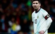 Messi nhận án phạt nặng sau khi chửi trọng tài ở Copa America
