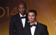 Ronaldo từng bị ám ảnh bởi Thiery Henry