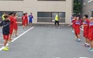 ĐT Futsal nữ Việt Nam có buổi tập đầu tiên trên đất Nhật