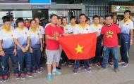 Hai ĐT futsal nam và nữ Việt Nam lên đường dự SEA Games 29