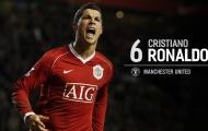 MU thống trị top 25 cầu thủ vĩ đại nhất kỷ nguyên Premier League