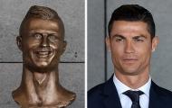 9 bức tượng xấu xí của sao bóng đá thế giới