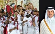 """Tiểu vương Qatar thưởng """"siêu khủng"""" cho các cầu thủ vô địch Asian Cup"""