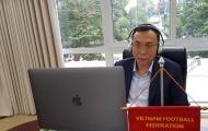LĐBĐ Việt Nam được FIFA hỗ trợ 1,5 triệu USD