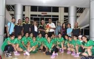 U16 Iraq có mặt tại Hà Nội sẵn sàng cho VL giải U16 châu Á 2017