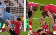 Tình huống kinh dị ở trận Southampton đấu West Ham