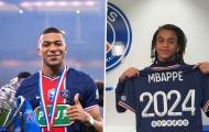 Xác nhận: PSG ký hợp đồng mới với Ethan Mbappe