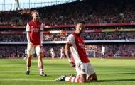 'Arsenal ghi 3 bàn chỉ sau vỏn vẹn 4 cú sút trúng đích'