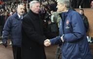 Sir Alex nói gì khi HLV Wenger quyết định rời Arsenal?