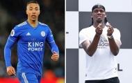 Thì ra đây là vị trí của 'Pogba Leicester' trong lòng Man Utd