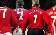 Năm 2020, Man Utd sẽ có 'chiếc áo số 7' mới