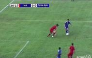 Vòng 24 V-League 2016: Hải Phòng hưởng lợi từ lỗi nhận định của trọng tài