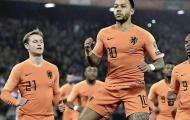 Depay được chấm điểm cao vượt trội trong ngày Hà Lan thua Đức