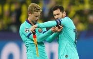 Frenkie de Jong gửi lời chia tay cảm động đến Messi