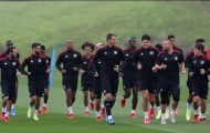 Sao sáng được tập luyện với đội 1 Man United