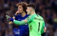David Luiz tiết lộ điều đã nói với Kepa trong tình huống 'bật' Sarri