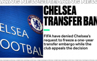 XONG! Chelsea chính thức đón nhận cú sốc từ FIFA